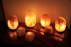 Qué son y para qué sirven las lámparas de sal