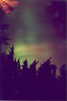 Northern Lights from my deck in Helena.
