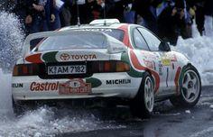 Rally Monte-Carlo 1995 - Didier Auriol - Toyota Celica ST 205