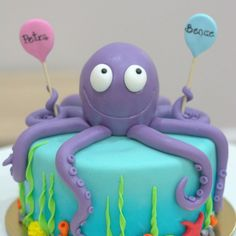 Octopus cake                                                       …