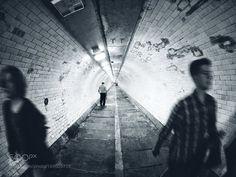Walk the line by SimonGrimes