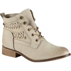 ALDO Wirasien Boots featuring polyvore, fashion, shoes, boots, ankle booties, booties, snowy, aldo boots, short boots, faux boots, lace up bootie and block-heel ankle boots