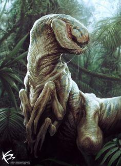 // The Raptor / Cruentulodon by Ken Barthelmey