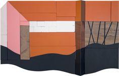 "Drew Tyndell / CABIN STUDY 13. / 19"" X 13"" 2012"