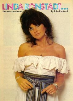 Danith D'Ash  Linda Ronstadt Interview / Rolling Stone/ March 27, 1975