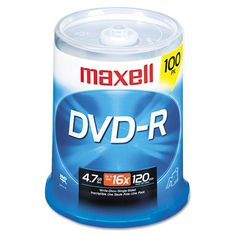 Introducing Maxell  DVDR Discs 47GB 16x Spindle Gold 100Pack  Sold As 1 Pack  Share and preserve files and memorable moments. Great product and follow us for more updates!