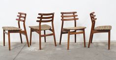 Grandfather's Axe - Twentieth Century Danish Vintage Furniture - Dining chairs $2100 for 4