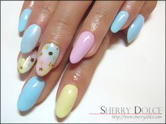 nail art /pastel