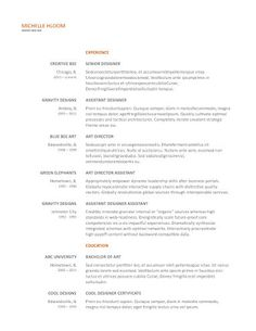 ButtonDown Google Docs Resume Template  Resume Templates And