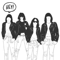 Find GIFs with the latest and newest hashtags! Search, discover and share your favorite Rock And Roll GIFs. The best GIFs are on GIPHY. Ramones, Orange Monkey, Joey Ramone, Iggy Pop, Gabba Gabba, Music Humor, Eric Clapton, Concert Posters, Rock Art