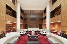 Singapore herself was the muse for HBA' Design's restyling of the iconic Singapore Marriott Hotel in Orchard Road.