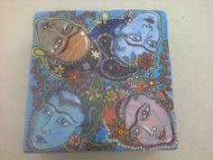 The many faces of Frida- Francke Ceramics