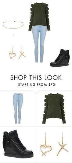"""""""Random outfit 46"""" by katmccreery on Polyvore featuring Topshop, Zoë Jordan, Ash and Stephen Webster"""