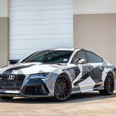 Camo Audi RS7