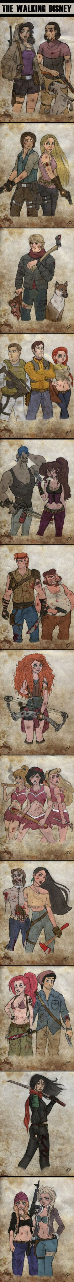 Walking Dead / Disney