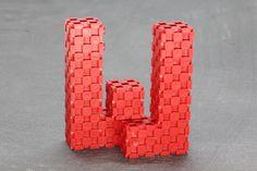 W (11 blocks) http://www.lini.toys  #linicube #lini #toy #education #ABC #alphabet #letter