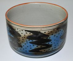 Gerda Østergaard. Bowl in white stoneware. Own studio Denmark.