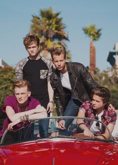 The Vamps!!! Love these guys so much. There music is perfect just like them. :)