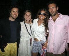 David Lauren, Lauren Bush, Dylan Lauren and Paul Arrouet