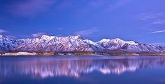 #lago, #montañas, #reflexión, #cielo