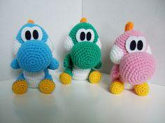 Baby Dinosaurs crochet pattern
