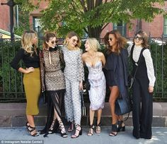 The fashion pack: Australia's top fashion and lifestyle bloggers took New York for Fashion...