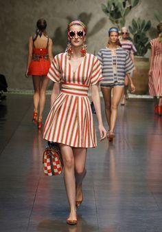 Dolce & Gabbana Summer 2013 Womens Fashion Show
