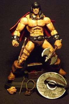 Marvel Comics Conan (Buscema Style) (Marvel Legends) Custom Action Figure