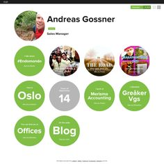 Graphical bio: Andreas Gossner