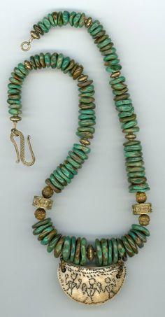 Western Jewelry, Hippie Jewelry, Tribal Jewelry, Skull Jewelry, Tribal Necklace, Turquoise Necklace, Beaded Necklace, Jewelry Necklaces, Vintage Turquoise Jewelry
