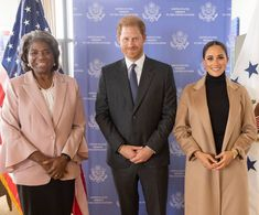 """👑Meghan,Harry & Archie👑's Instagram profile post: """"#NEW Duchess Meghan and Prince Harry who are the co-chairs of the Global Citizen Live event which will be held on Saturday just attended a…"""""""