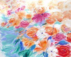 Nueva época. Jardín 1 ,  acrílico sobre lienzo. 116 x 88cm. 2017 Para información y venta  elena@hados.es