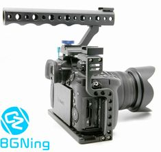 FANSHANG GH5 GH5S Camera Cage Video Stabilizer with Cold Shoe Mount Compatible with Panasonic Lumix GH5//GH5s,Aluminum Alloy,Professional Video Accessories