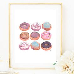 Click for cool new spots to buy wall art for your home (like, you know, pretty paintings of donuts).