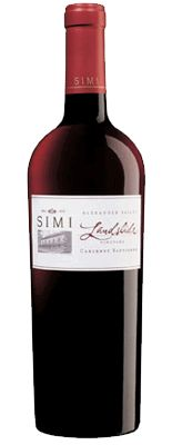 Simi Landslide Cabernet Sauvignon; Med body and tannins.  Easy drinking.  Great summer Cab