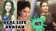 Real Life Hot Avatar of Hina Khan aka Akshara of YRKKH