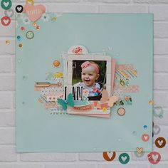 """Embellished Memories: Playing with Simple Stories """"I Am"""" Collection...Video Tutorial"""