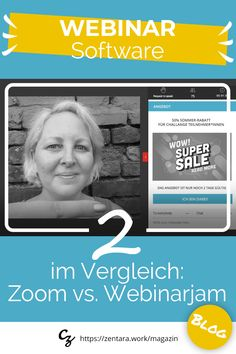 2 Lösungen im Vergleich: Zoom vs. WebinarJam. Entdecke an Hand von 9 Kernkriterien welche Anforderungen die Webinar-Softwaren erfüllen. #webinar #marketing #onlinemarketing