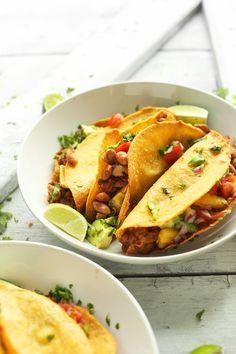 Crispy Baked Vegan Tacos Minimalist Baker Recipes