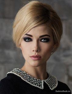 beauty smokey make-up