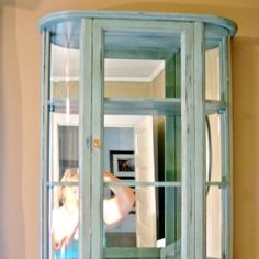 Painted Furniture - Cottage at the Crossroads Mirror Painting, Diy Painting, Diy Furniture Easy, Painted Furniture, Cedar Chest Redo, Painted Night Stands, Closet Vanity, Stool Covers, Wooden Stools
