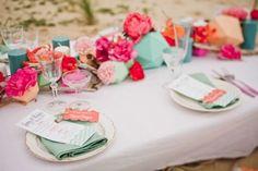 Bright And Fancy Surf-Inspired Beach Wedding Shoot   Weddingomania