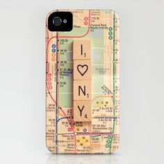i heart new york iPhone Case by Shannonblue . I want one with I <3 1d
