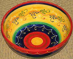 Centro de Mesa/Frutero Hand Painted Pottery, Pottery Painting, Ceramic Painting, Ceramic Art, Ceramic Plates, Ceramic Pottery, Pottery Art, Ceramic Furniture, Acrylic Painting Tips