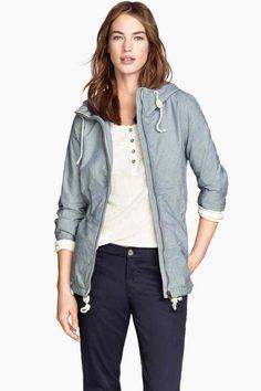 Blusão em sarja de algodão | H&M
