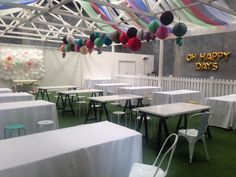 setting the room for maximum enjoyment, plenty of tables, chairs and room to roam and play Outdoor Furniture Sets, Outdoor Decor, Down Hairstyles, Shower Ideas, Bridal Shower, Tables, Wedding Day, Chairs, Play
