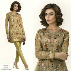 A Selective Range Of Metallic Formals, Hand Embroidered To Perfection!!! #Gorgeous #ElegantStyle #FormalWear #ZaheerAbbasOfficial #SadafKanwal #LuxuryPret #HandEmbroidery #GoldShadesTrend #LuxuryFashion #SummerCasual #PakistaniFashion #PakistaniCelebrities  ✨