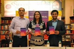 Our PP attended the book launch of Rashmi Bansal's 'Arise, Awake' at Crossword, Mumbai