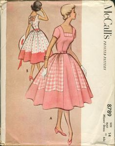 Sometimes I wish it was the 50s again, just for the clothing.