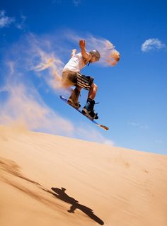 Sandboarding.The most frequently visited sandboarding destinations in the world…